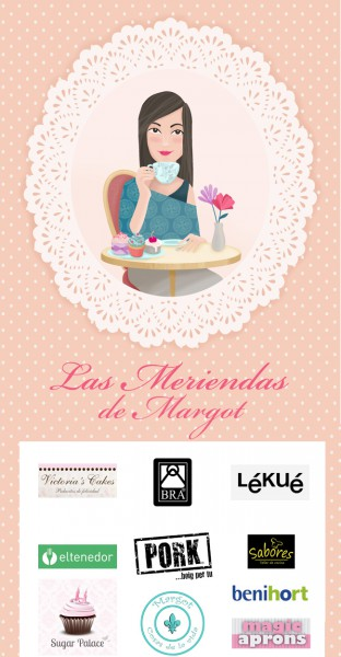Las Meriendas de Margot (Victorias Cakes) Logos