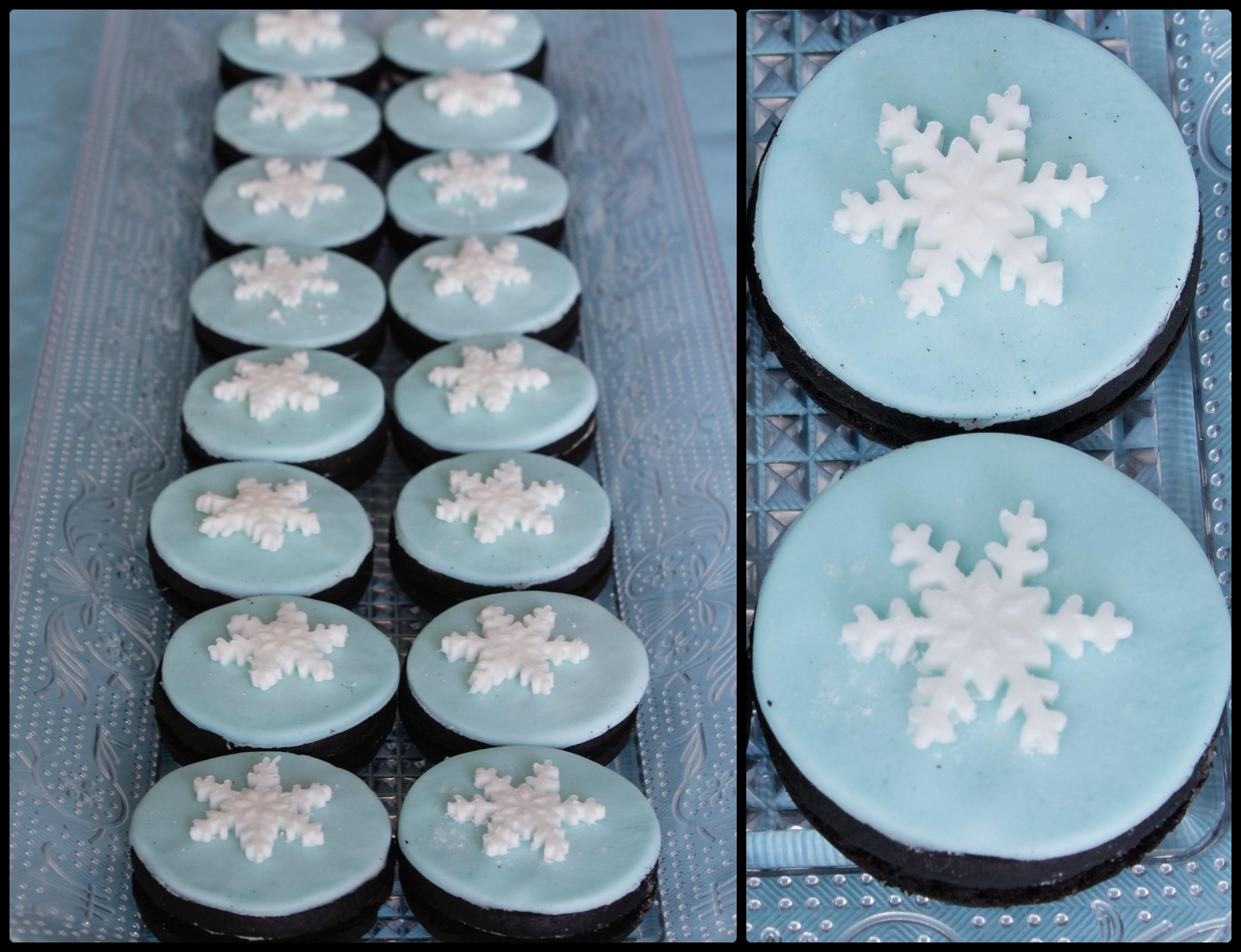 Copos De Nieve Para Decorar Fiesta Frozen.Gelatinas Azules Para Una Fiesta Frozen La Cuchara De Mis